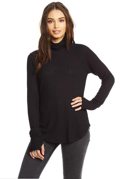 Chaser Thermal Turtle Neck with Thumbhole