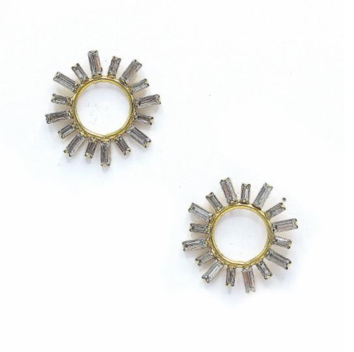 Elizabeth Cole Portia Earrings