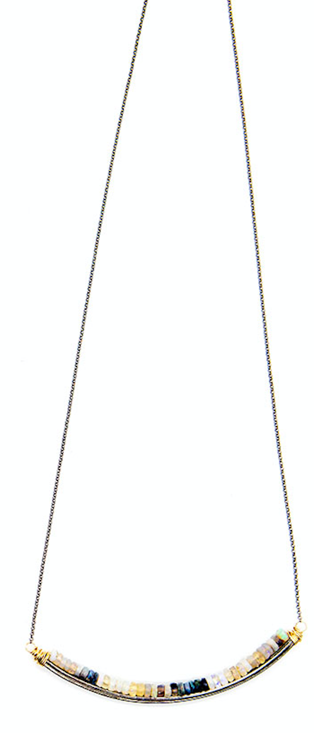 Bloom Rondelle U Necklace