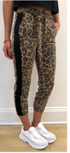 Pam & Gela Leopard Pant with Sash