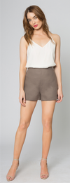 Lavender Brown Classic Shorts