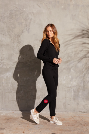 Monrow Joggers with Love Lips