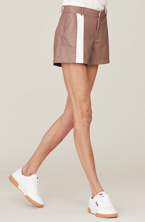 David Lerner Campbell Front Stripe Shorts
