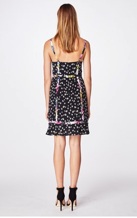 Nicole Miller Ditzy Stems Dress