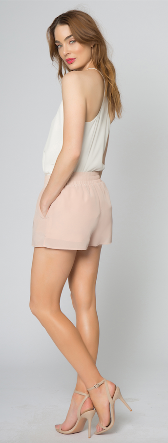 Lavender Brown Blush Shorts