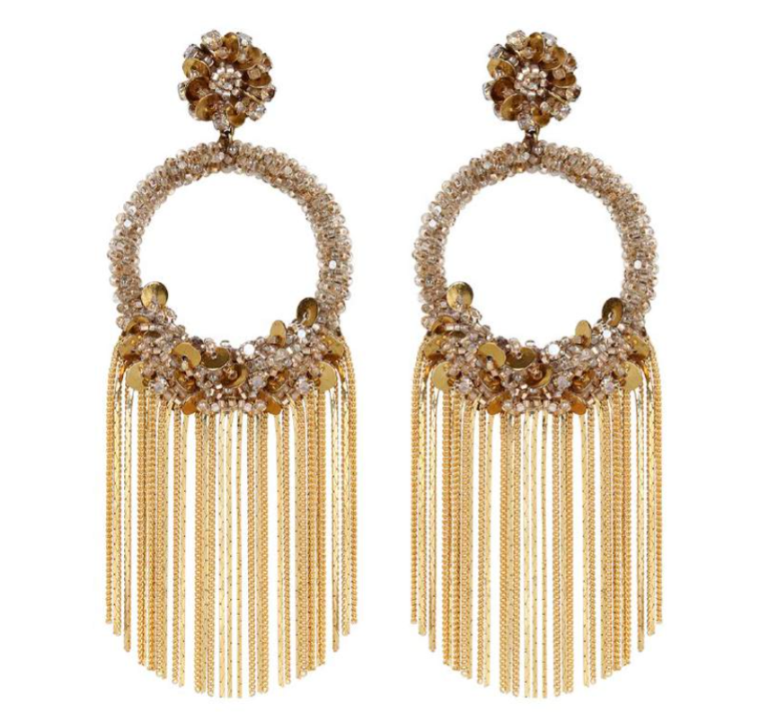 Deepa Gurnani Hedi Earrings