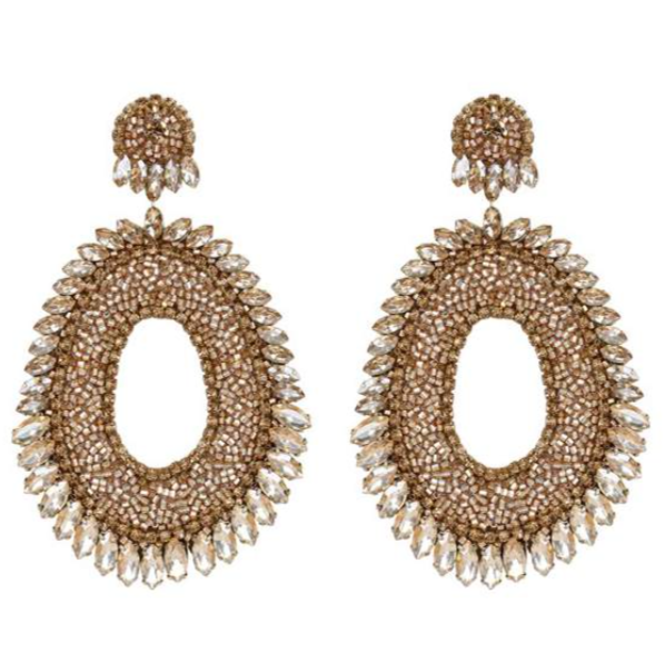 Deepa Gurnani Kiki Earrings