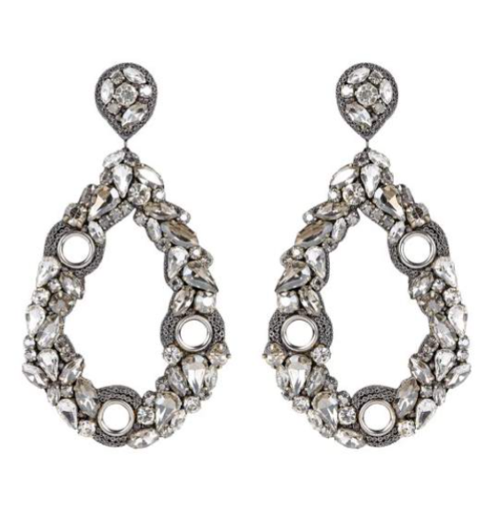 Deepa Gurnani Unity Earrings