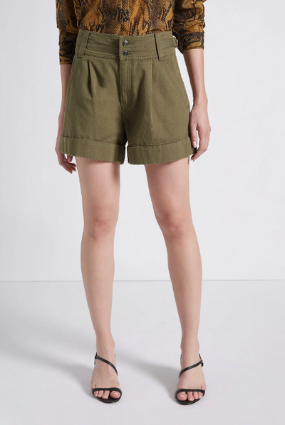 Current Elliott Relaxed Army Shorts
