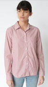 Stateside Striped Classic Button Down Shirt