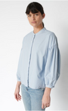Stateside Mandarin Collar Button Down