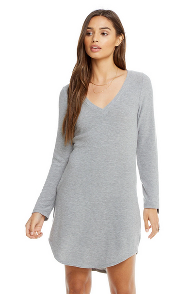 Chaser Cozy Knit Long Sleeve Dress