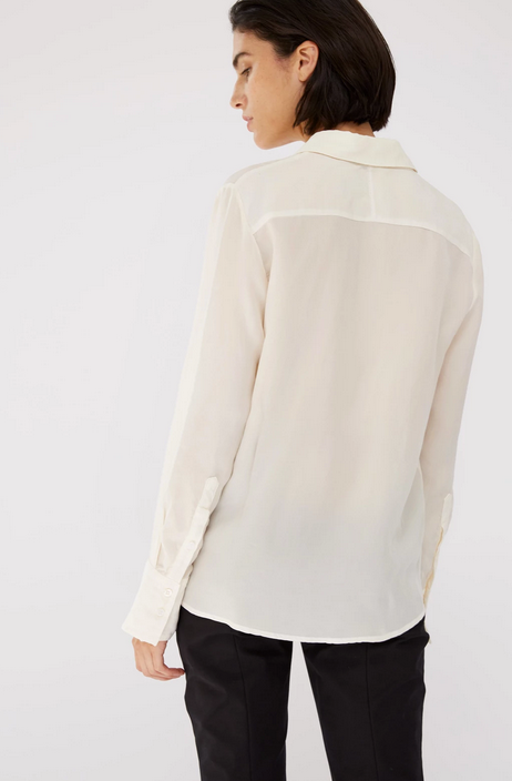 Stateside Cupro Long Sleeve Blouse
