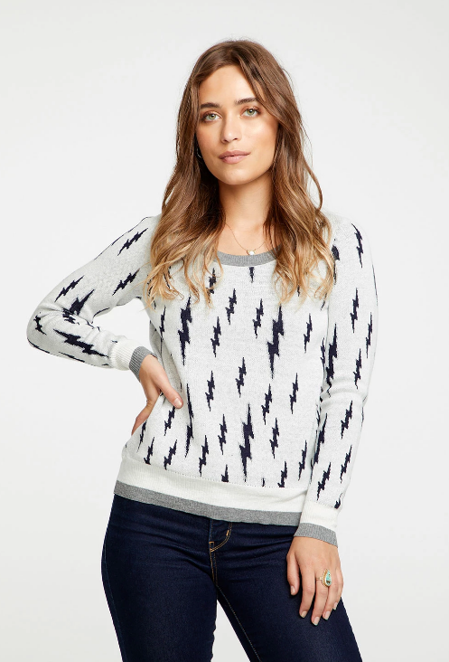 Chaser Lightning Bolt Sweater