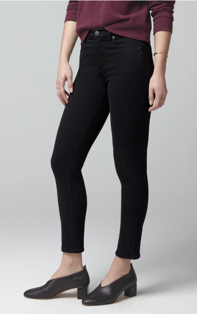 Citizen of Humanity Rocket Crop Mid Rise Jeans