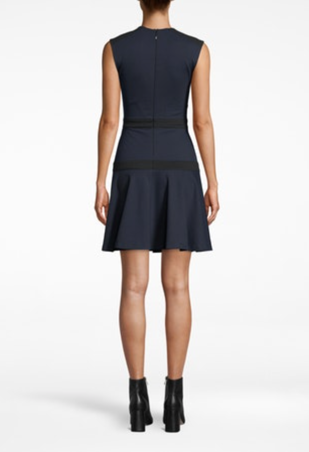 Nicole Miller Ponte Flare Dress