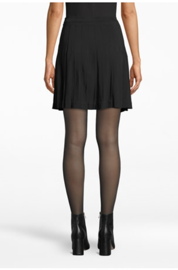 Nicole Miller Pleated Mini Skirt