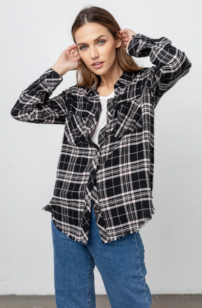 Rails Leo Plaid Top