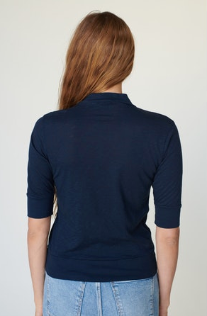 Stateside Mock Neck Top
