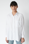 Stateside Poplin Oversized Top