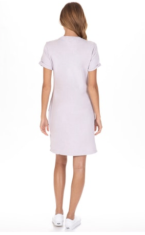 LA Made Ari Dress in Lilac