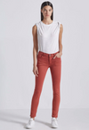 Current Elliott Stiletto Jeans in Washed Berry