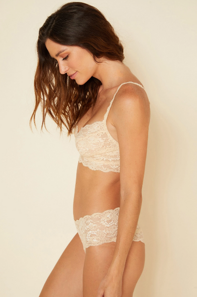 Cosabella Never Say Never Bralette in Blush