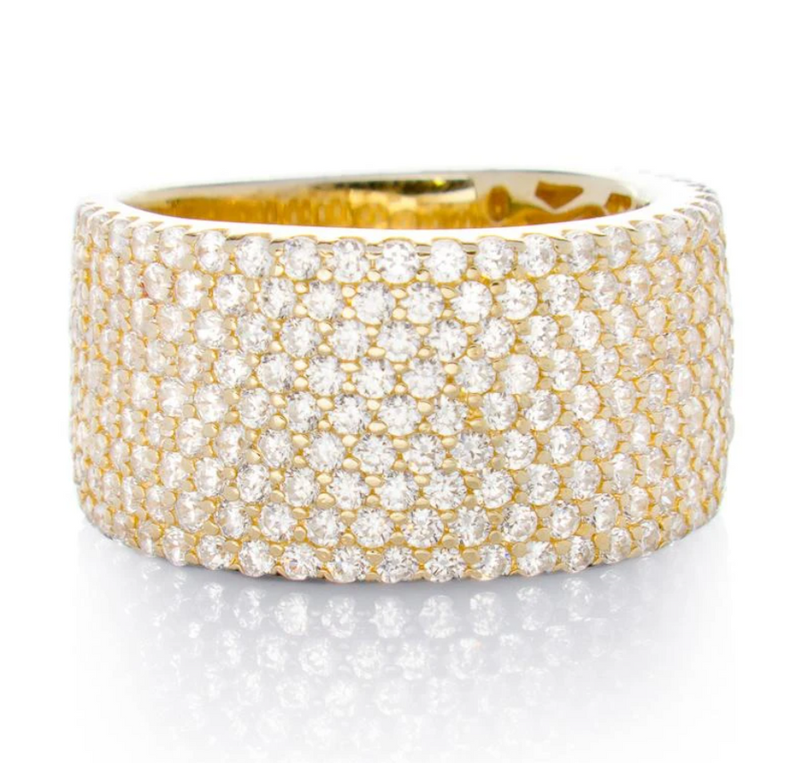Jen Hansen Wide Band, Gold