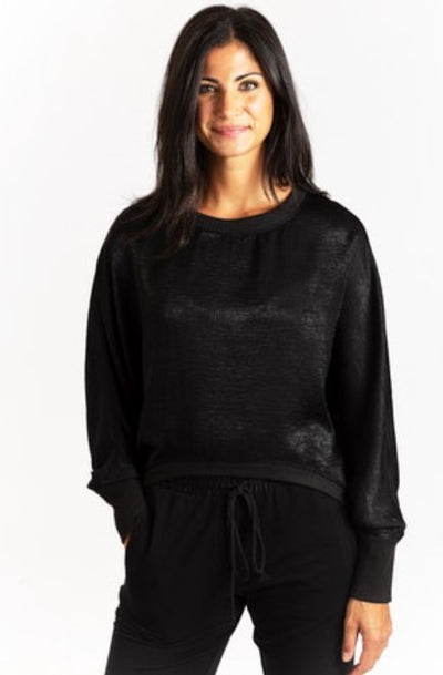 Drew Danna Sweater in Black