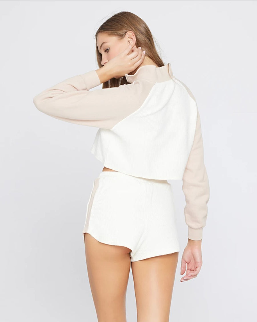 L Space Staycation Pullover in Cream