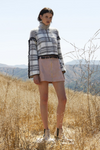 The Jetset Diaries Carvan Pullover in Plaid