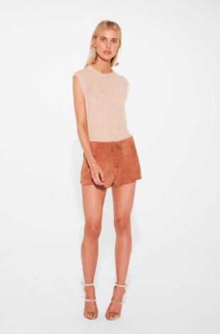 Sir the Label Vali Short in Rust
