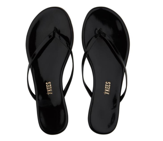 Tkees Glosses Sandal in Licorice