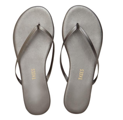 Tkees Shadows Sandal in Frosty Grey