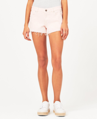 DL1961 Renee Short in Blush Pink