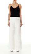 Luxe Deluxe Night Out High Waisted Pant in White
