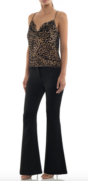 Misha Collection Austin Top in Leopard