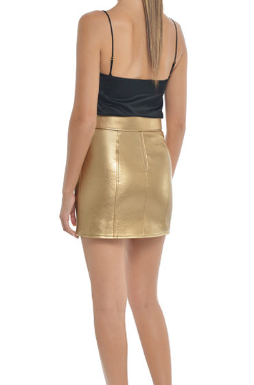 Misha Collection Skye Skirt in Gold