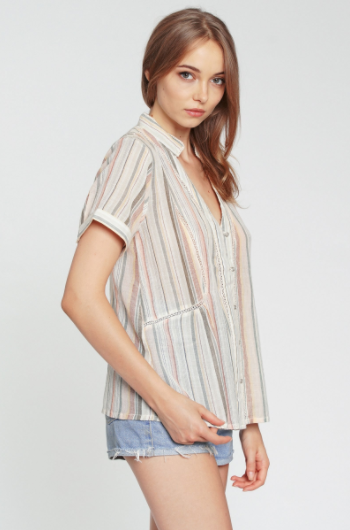 dRA Carla Top in Cabana Stripe