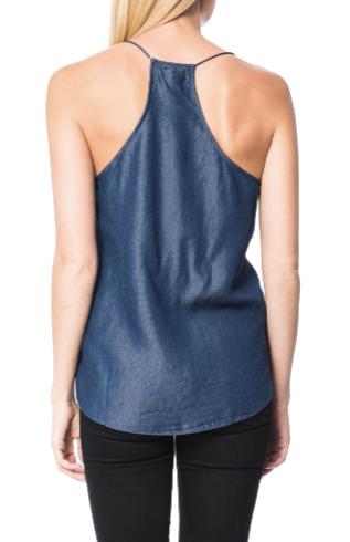 Cami NYC Racer Chambray in Chambray