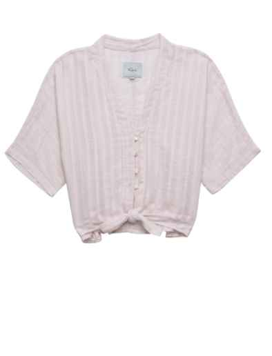 Rails Thea Top in Blush Shadow Stripe