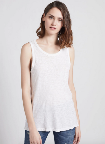 Current Elliott The Muscle Tee in Sugar