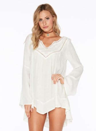 L Space Northern Star Tunic in Ivory