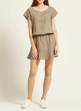 Joie Quora Dress in Fatigue