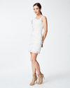 Nicole Miller One Shoulder in White