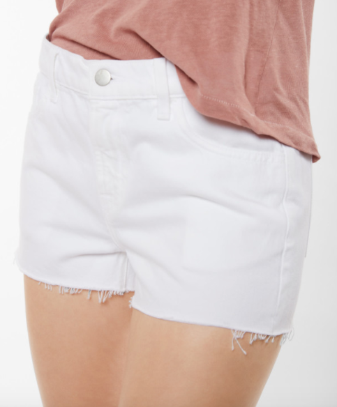 J Brand Low Rise Short in White