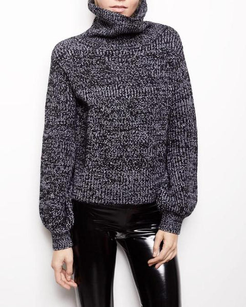 Generation Love Simone Lace Up Sweater
