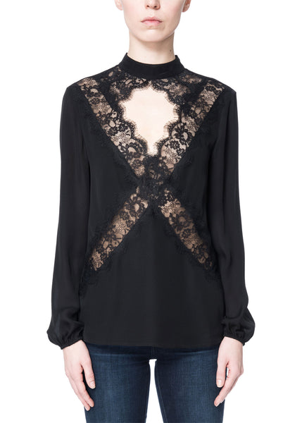 Cami NYC Skylar Top in Black