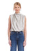 Amanda Uprichard Sleeveless Fabienne Bodysuit in Dove