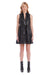 Amanda Uprichard Sleeveless Saffron Dress in Black
